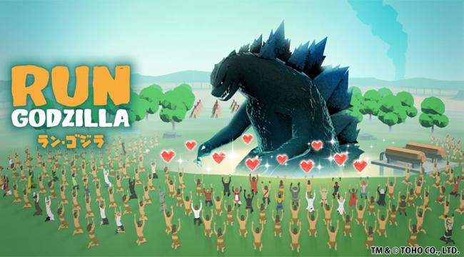 Run Godzilla – Siêu quái thú của TOHO chính thức ra mắt game thủ mobile