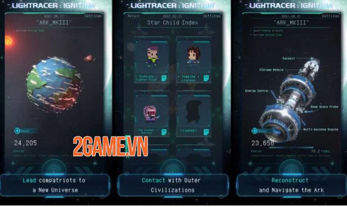 Lightracer: Ignition - Game khoa học viễn tưởng dạng tư liệu mở truy cập sớm 3