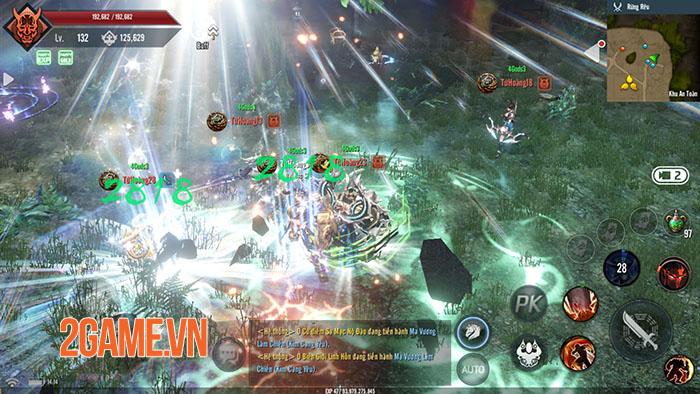 Tứ Hoàng Mobile – Đột phá lối chơi, khẳng định đẳng cấp PK 9