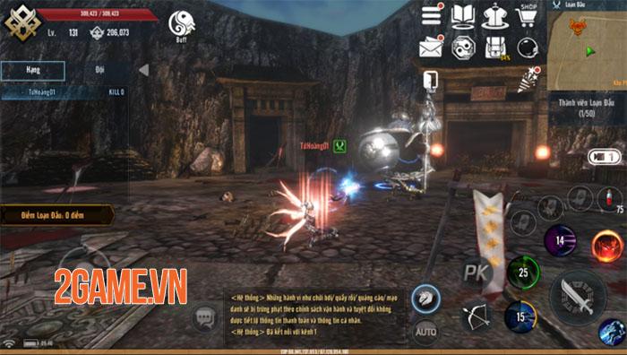 Tứ Hoàng Mobile – Đột phá lối chơi, khẳng định đẳng cấp PK 10