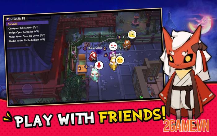 FoE: Friend or Enemy - Trải nghiệm Ma sói mobile đơn giản với Tiếng Việt 1