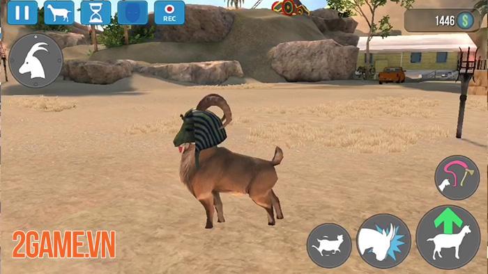 Quậy phá cuối tuần thả ga với Goat Simulator Mobile 0