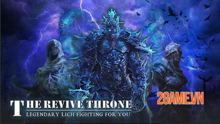 The Revived Throne - Không gian thể hiện khả năng chiến thuật với tư cách chỉ huy 0