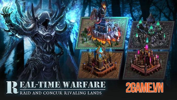 The Revived Throne - Không gian thể hiện khả năng chiến thuật với tư cách chỉ huy 3