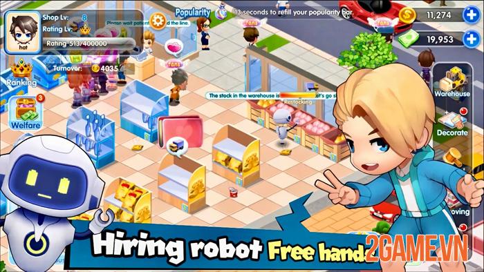 My Store: Sim Shopping - Trải nghiệm cảm giác làm chủ cửa hàng riêng 5