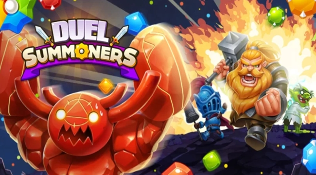 Duel Summoners – Game giải đố PVP đơn giản nhưng đầy tính chiến thuật