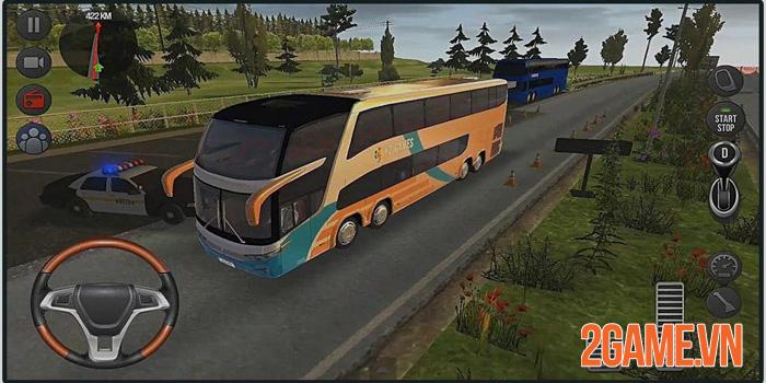 Cách ly vẫn có thể đi phượt với tựa game Bus Simulator: Ultimate 2