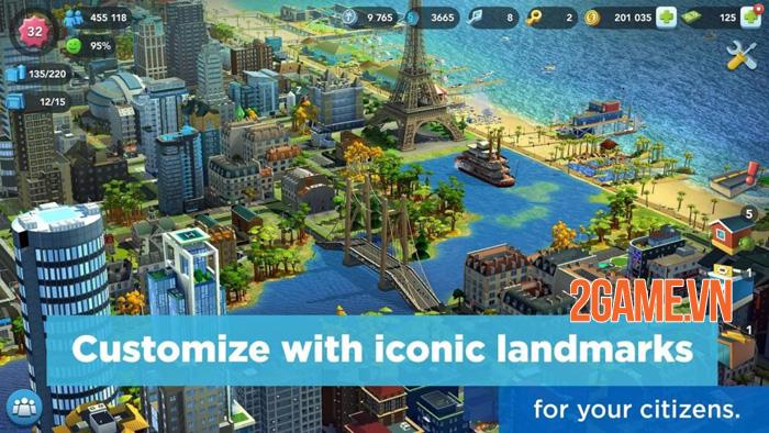 SimCity BuildIt - Thể hiện tầm nhìn của game thủ qua việc xây thành phố 2