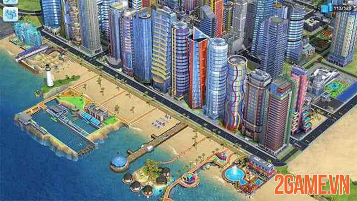 SimCity BuildIt - Thể hiện tầm nhìn của game thủ qua việc xây thành phố 0