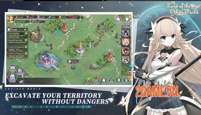 Lord of the Other World - Game chiến thuật tập trung vào tinh thần đồng đội 0