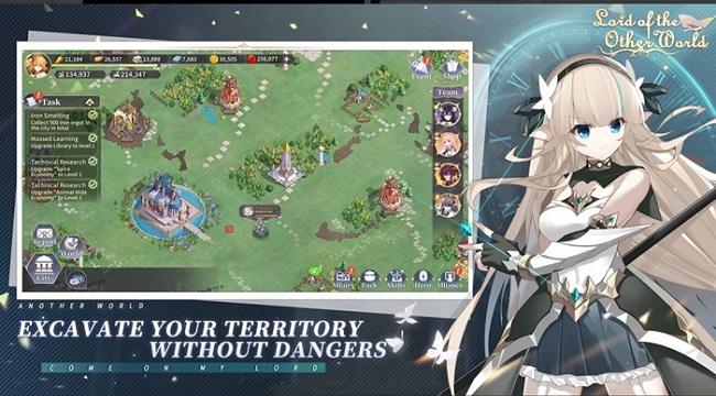 Lord of the Other World – Game chiến thuật tập trung vào tinh thần đồng đội