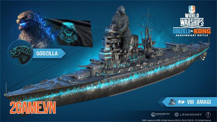 Đại chiến Godzilla vs Kong bất ngờ tái hiện trong World of Warships 0