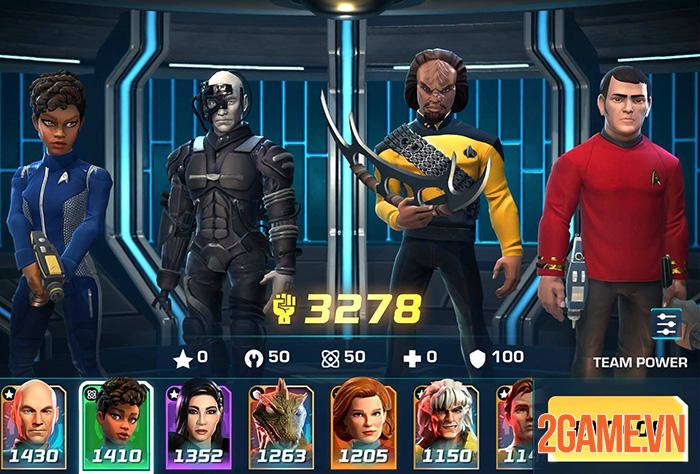 Star Trek: Legends - Du hành vũ trụ cùng phi hành đoàn quen thuộc 1