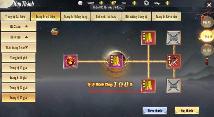 Thiên Long Kỳ Hiệp - game kiếm hiệp chính tông được VGP mang về Việt Nam 9