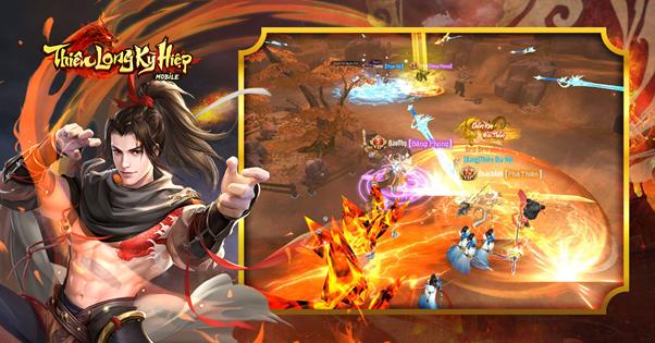 Thiên Long Kỳ Hiệp - game kiếm hiệp chính tông được VGP mang về Việt Nam 2