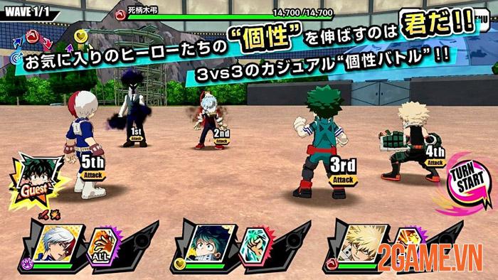 My Hero Academia: Ultra Impact - Bom tấn chuẩn bị ra mắt ở Nhật Bản 1