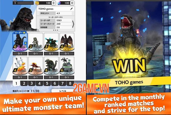 GODZILLA BATTLE LINE - Trận chiến của quái vật và vũ khí từ loạt phim Godzilla 0