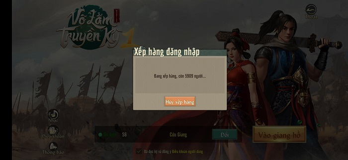 """Võ Lâm Truyền Kỳ 1 Mobile lập kỷ lục mới: 20 server trong ngày đầu tiên, hàng vạn người """"xếp hàng"""" 2"""