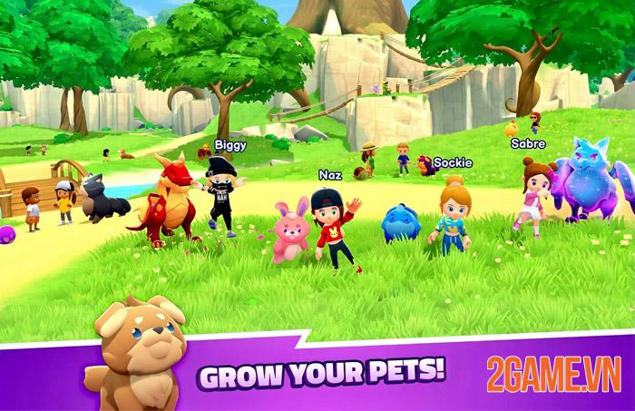 World of Pets - Trải nghiệm thế giới mới cùng thú cưng đột biến 0