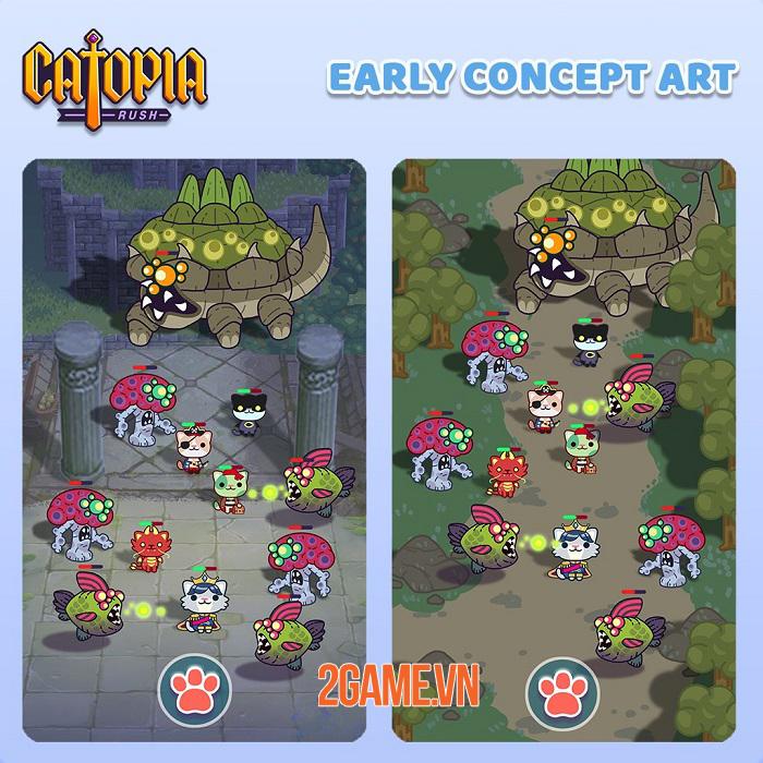 Catopia Rush - Tựa game aRPG được chờ đợi nhất năm nay 1