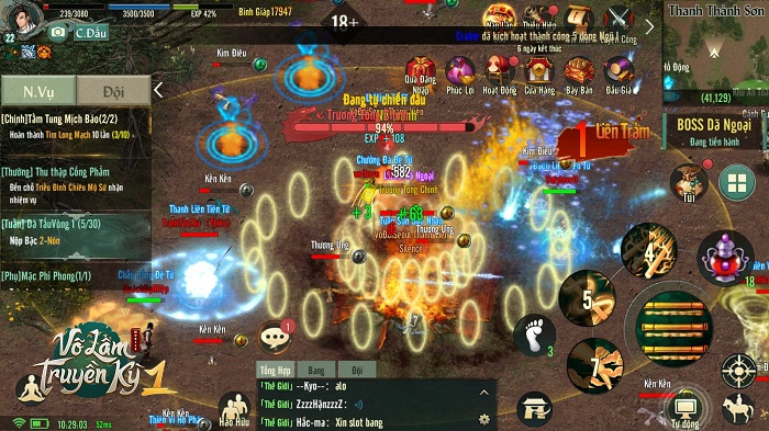 Tặng 1000 giftcode Võ Lâm Truyền Kỳ 1 Mobile mừng ra mắt thành công 1