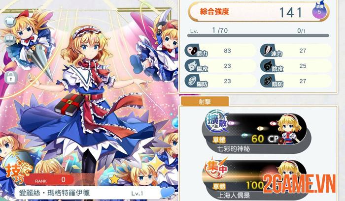 Touhou LostWord - Trải nghiệm mới mẻ với game thẻ bài cùng dàn waifu 1