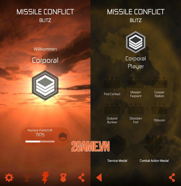 Mission Conflict Blitz - Game hành động phóng tên lửa cổ điển 2