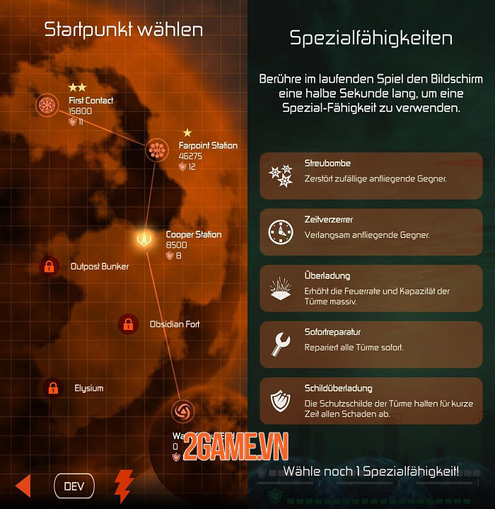Mission Conflict Blitz - Game hành động phóng tên lửa cổ điển 3