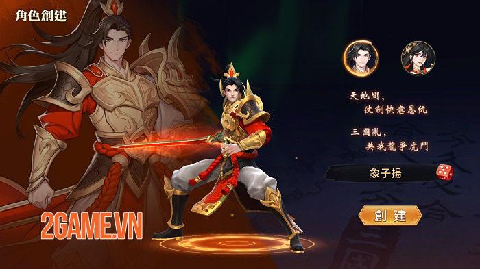 Chơi thử Tân OMG3Q bản Đài Loan: Game 2,5D với tạo hình tướng 3D siêu ấn tượng 1