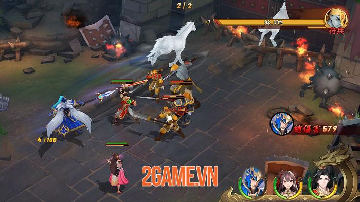 Chơi thử Tân OMG3Q bản Đài Loan: Game 2,5D với tạo hình tướng 3D siêu ấn tượng 5