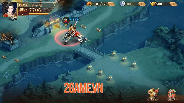 Chơi thử Tân OMG3Q bản Đài Loan: Game 2,5D với tạo hình tướng 3D siêu ấn tượng 3