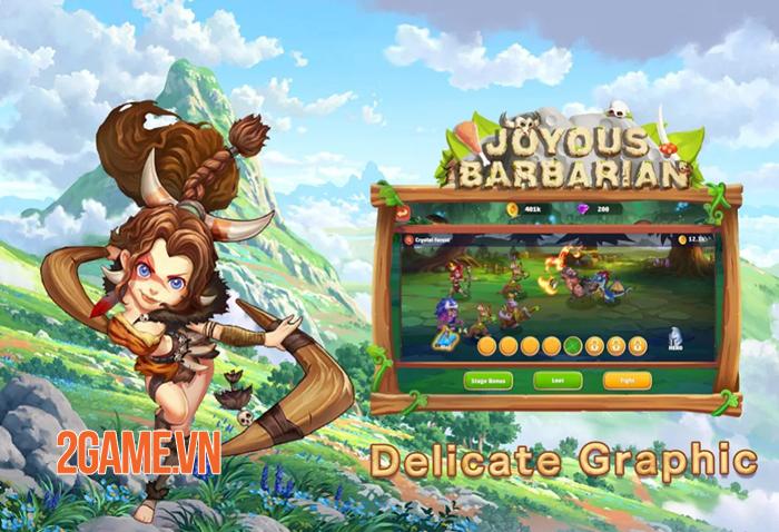 Joyous Barbarian - Game thẻ bài đưa bạn trở về thời kỳ đồ đá 1