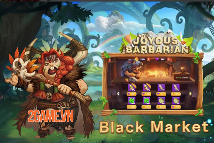 Joyous Barbarian - Game thẻ bài đưa bạn trở về thời kỳ đồ đá 2