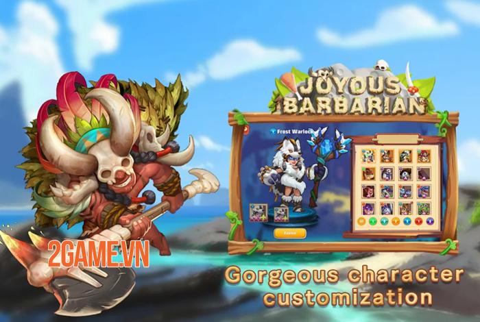 Joyous Barbarian - Game thẻ bài đưa bạn trở về thời kỳ đồ đá 3
