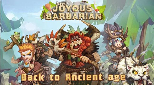 Joyous Barbarian – Game thẻ bài đưa bạn trở về thời kỳ đồ đá