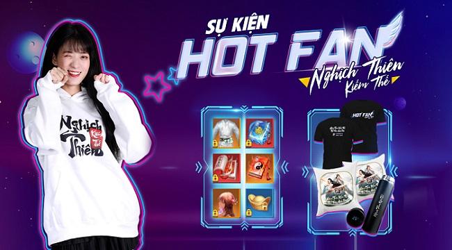 Trai tài gái sắc đua nhau tỏa sáng trong sự kiện Hot Fan của Nghịch Thiên Kiếm Thế