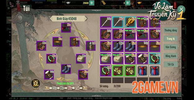 Võ Lâm Truyền Kỳ 1 Mobile: Khai phá tối đa sức mạnh với hệ thống Ngũ Hành toàn diện 0