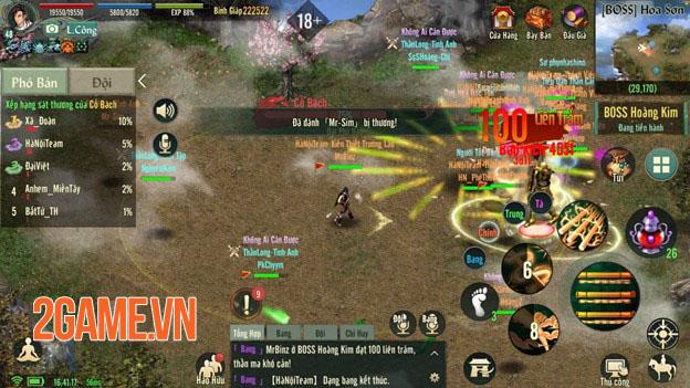 Võ Lâm Truyền Kỳ 1 Mobile: Khai phá tối đa sức mạnh với hệ thống Ngũ Hành toàn diện 3