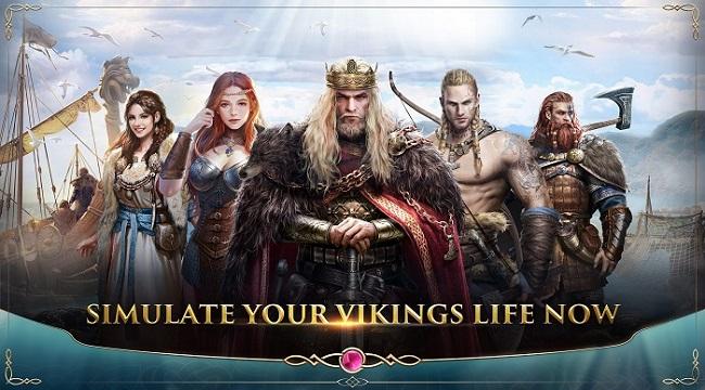 Simure Vikings – Game nhập vai cho phép bạn trở thành thủ lĩnh người Viking