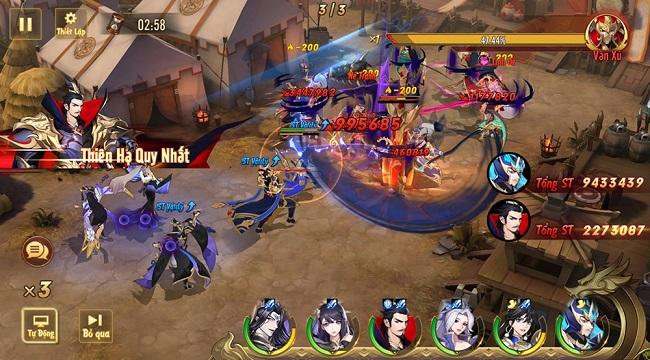 Game đấu tướng thế hệ mới Tân OMG3Q VNG bất ngờ công bố ngày ra mắt