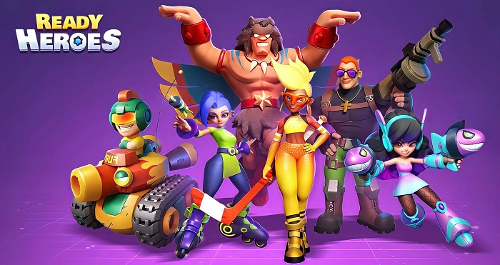Ready Heroes - Game Idle RPG có hệ thống thu thập anh hùng hấp dẫn 0