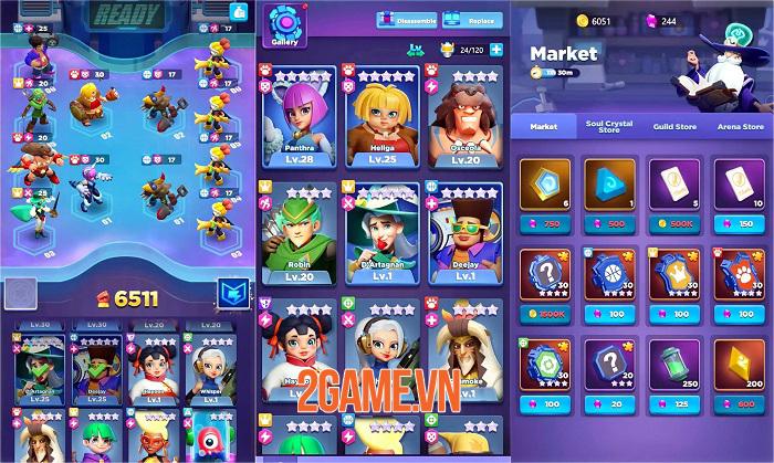 Ready Heroes - Game Idle RPG có hệ thống thu thập anh hùng hấp dẫn 2