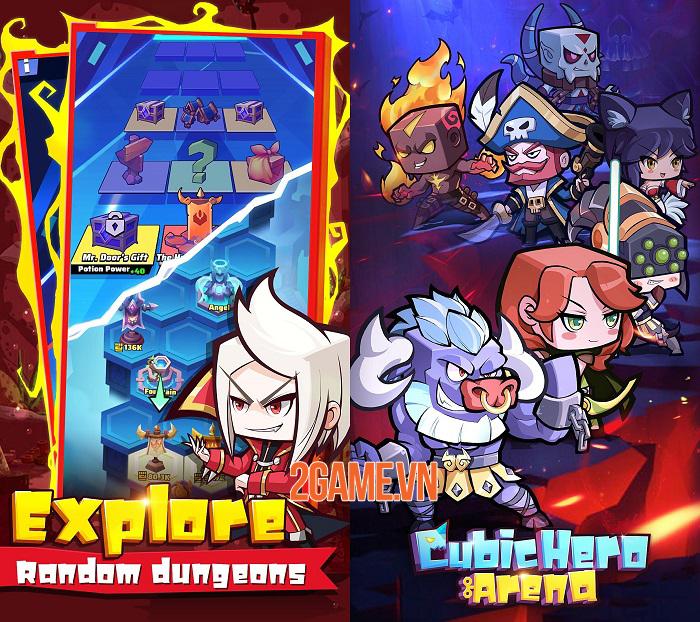 Cubic Hero Arena – Game Idle RPG với dàn anh hùng cổ điển dễ thương hình khối CubicHeroArena-hinhanh-3