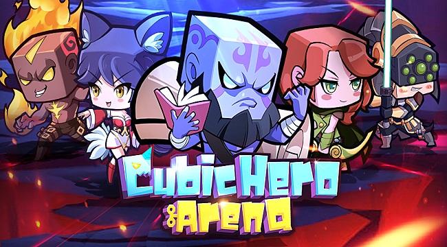 Cubic Hero Arena – Game Idle RPG với dàn anh hùng cổ điển dễ thương hình khối