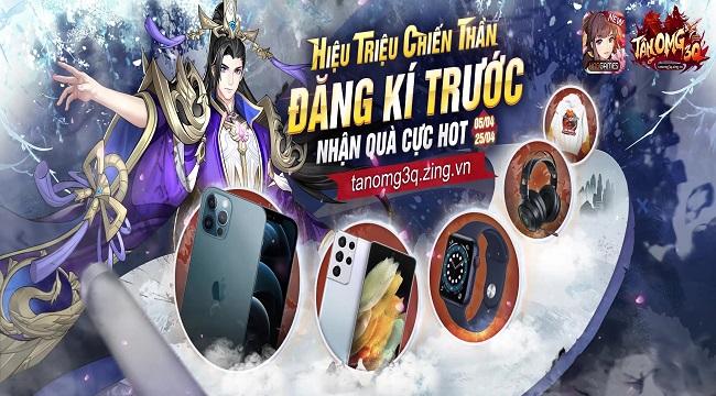 Tân OMG3Q VNG – Game Tam Quốc thế hệ mới được mong chờ nhất