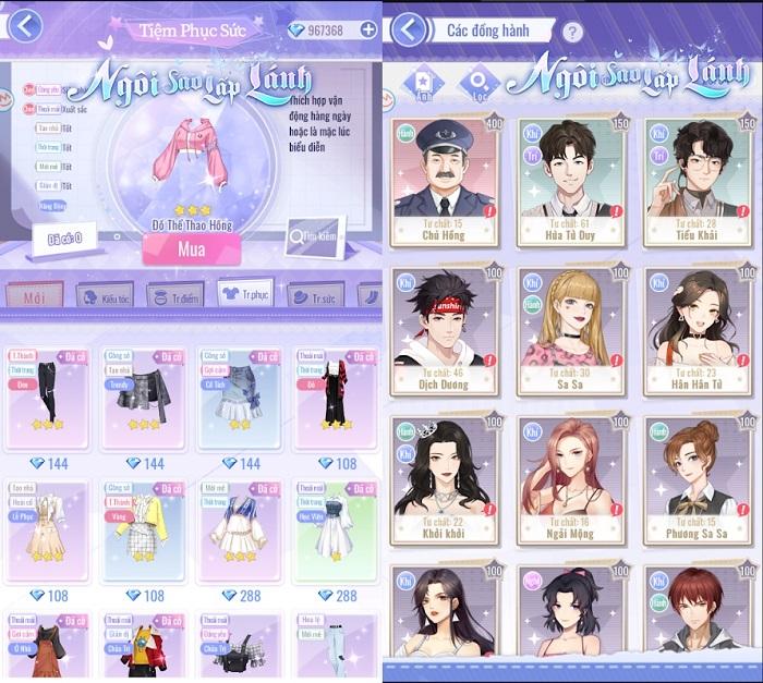 Ngôi Sao Lấp Lánh thể hiện đẳng cấp game hẹn hò thế hệ mới 2021 4
