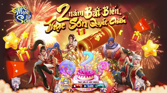 Tặng 500 giftcode Thục Sơn 4D mừng sinh nhật 2 tuổi