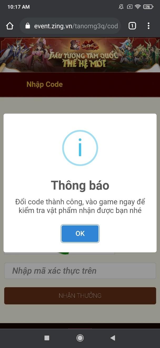 Tân OMG3Q VNG tung giftcode xịn tặng game thủ Tan-OMG3Q-VNG-giftcode-3
