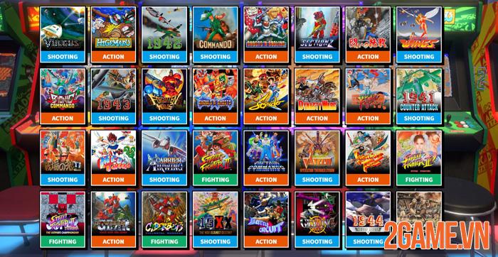 Capcom Arcade Stadium – Bộ sưu tập đầy hoài niệm với giá hạt dẻ Capcom-arcade-stadium-bo-suu-tap-day-hoai-niem-voi-gia-hat-de-7