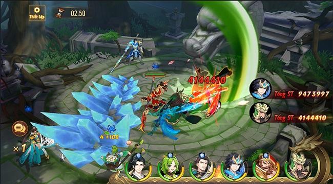 Quá trời hoạt động để người chơi tham gia trong Tân OMG3Q VNG